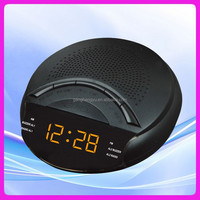 LED digital FM AM radio alarm clock , hotel table radio digital alarm clock