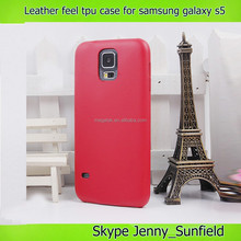 Ultra thin tpu leather case for samsung galaxy s5 i9600 , for samsung galaxy s5 case leather
