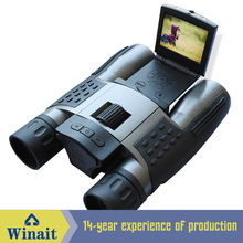 1280x702P HD Binocular Digital Camera with Rechargeable Lithium Battery