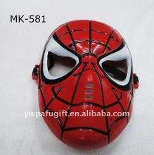 RED spider-man party mask