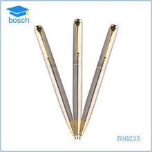 wholesale stainless steel wire braid metal pen for promotion