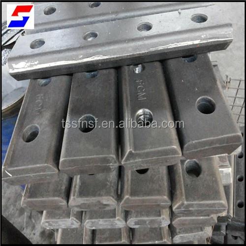 International standard holes steel rails fish plate with for A shear pleasure pet salon