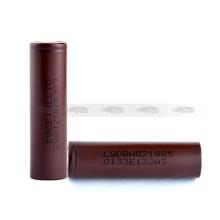 Hottest vaping mod batteries LG hg2 18650 3000mah batteries in USA