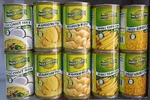 AMERICAN HARVEST CANNED VEGETABLE PRODUCTS