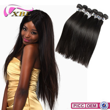 Hot Selling 100% Real Wavy Machine Weft Remy Human Hair Virgin Indian