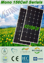 pv module production line/A-grade cell high efficiency 130w monocrystalline PV solar panel price from china/cheapes solar panels