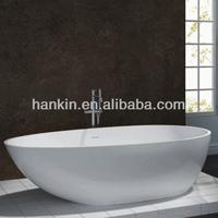 costumized solid surface pure acrylic stone bathtubs