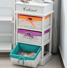 Colorful office filing cabinet furniture 4 drawer file cabinet