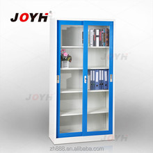 Cheap price reliable supplier glass display steel filing cabinet for file