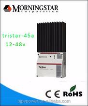 pwm 45a solar energy controller tristar