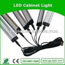 super slim frosted and clear cover 12V 24V 5W china cabinet lighting with 3years warranty and CE UL