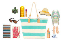 Striped Canvas Beach Bag 2013 Cheap Wholesale Bags Tote Handbag Bag