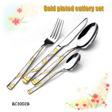 mayer boch 86pcs cutlery set with wooden case 2015 promotion & stock slaes
