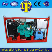 cold water high pressure cleaner /diesel engine high pressure washer