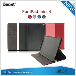 2015 new 7 inch tablet PU leather case for ipad mini 4