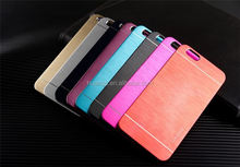 2016 New design PC+Brushed aluminum cell phone case for iphone 6 made in china