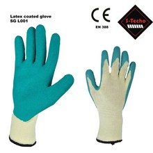 work latex coated safety gloves