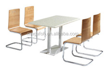 Modern Fashion Restaurant Dining Table and Chair Sets (FOH-BC27)