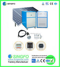 25 years life span easy installation off grid 10800-14040W Large solar power system for home use SFPS1335A