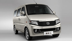 China Euro 4 RWD Gasoline Mini Passenger Van for sale