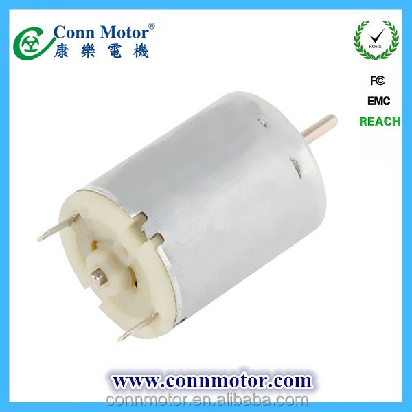 2015 made in china high technology light weight low cost gear toy motor 6v