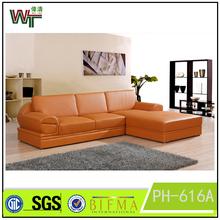 2015 Living room furniture Leather sofa