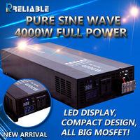 2015 new design 12v dc to 220v ac 4kw pure sine wave solar power inverter