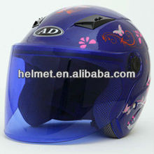 motorcycle open face novelty helmet FOR electric motorcycles and scooters AD-605