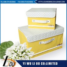 Popular simple design beauty color make toy storage box