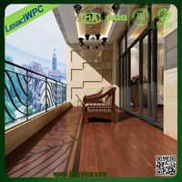 easy to clean up wpc korean flooring