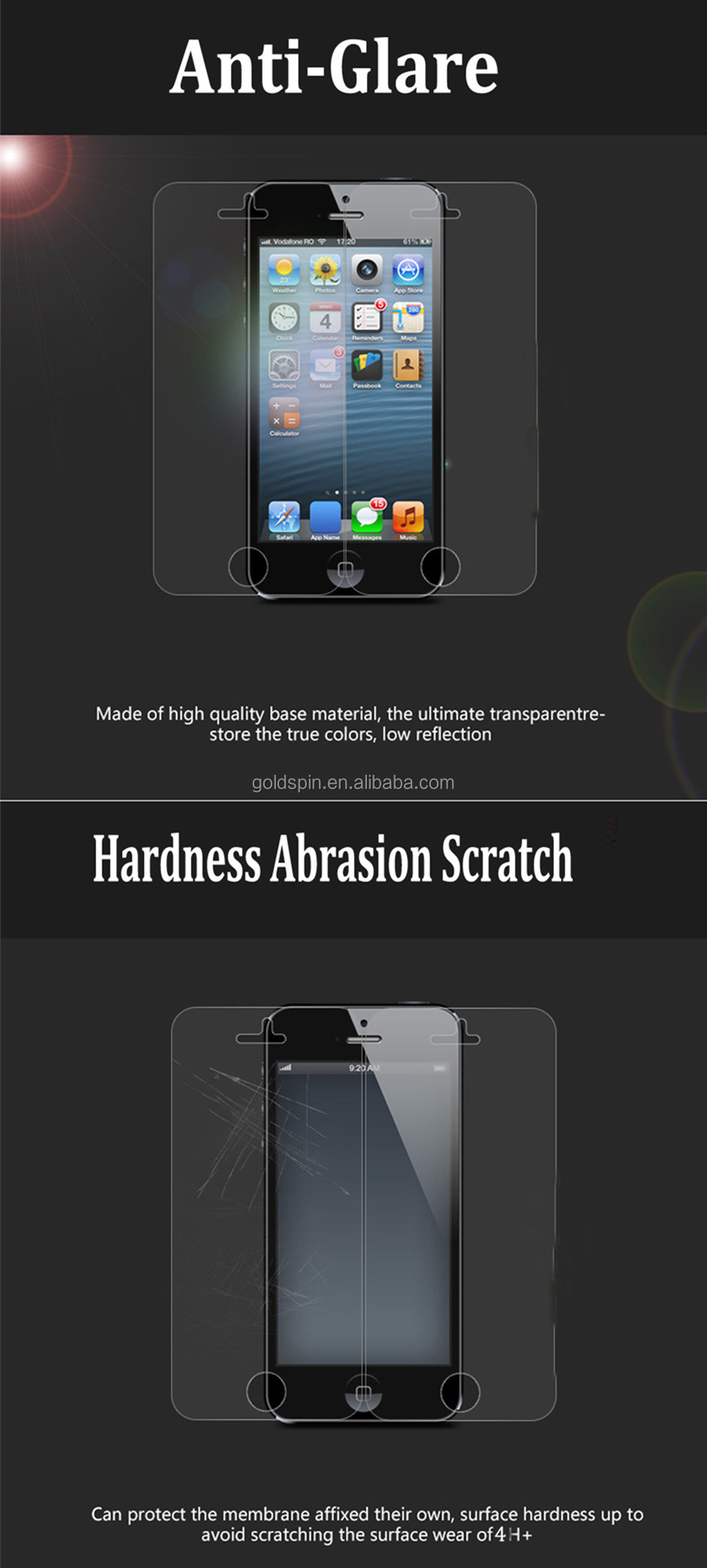 Manufacturer!!Perfect Fit For iPad Mini Screen protectors