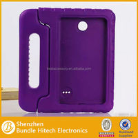 kids shockproof silicone case for 7inch tabet pc, kids 7 inch tablet case with handle, soft case for samsung tab 4 T230 7.0