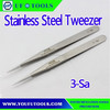 3-Sa Conductive Strong Tip Precision Point Tweezer,General Purpose Assembly Tweezer, Electronic Tweezers