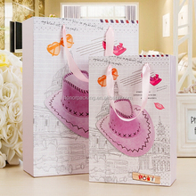 Factory price high quality elegant carrier paper shoes bag for lover wholesale