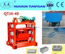 Concrete brick machine QTJ4-40 Small Brick Making Machine/Manual Brick Production equipment