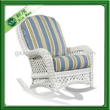 white wicker rattan rocking chair wholesale