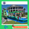 long jungle slides for sale,cheap wet slide quipment, backyard water park inflatable slide for adult and kids