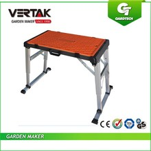 Hot item foldable wooden work bench,work table for DIY market