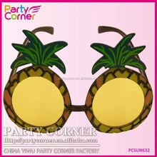 Tropical Pineapple Hawaiian Glasses For Party
