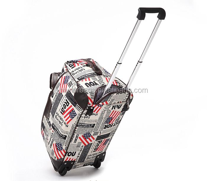 Vente chaude duffle sac avec roues de la chine