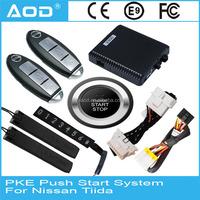 For Nissan Tiida Keyless go remote engine start Push button engine start