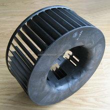 Motor cooling plastic fan impeller