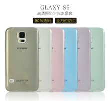 Ultra thin slim crystal silicone vs tpu case for samsung galaxy S7262/7260
