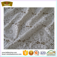 French lace floral cord lace fabric for table cover