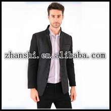 Men cultivating wild winter new wool coat section wool coat