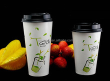 Wholesales custom travel the white coffee Paper Cups