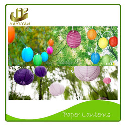 Paper Lantern/Home Decoration Hanging Round Japanese Paper Lanterns