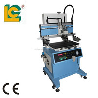 LC-400PT Automatic Flatbed T-Slot Workable Screen Printer for Silicone Key Press