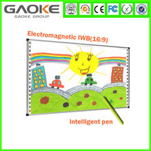 """Infrared Smart Board Teaching Boards 4 Touch Writing Multi User All In One 78"""" Whiteboard with Aluminium Frame Pass CE FCC ROSH"""
