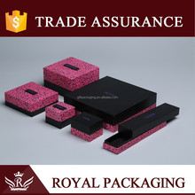 Leopard paper cardboard innovation box wooden packaging box for gift,jewelery